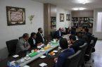 جلسه بخشدار خاوران با دهیاران این بخش برگزار شد