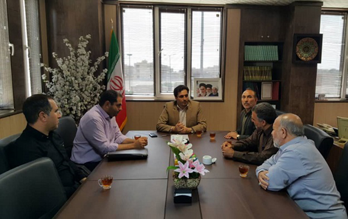 برگزاری جلسه بررسی مشکلات آب روستای قاسم آباد تهرانچی