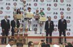 بانوی کاراته کای قیامدشت سوم آسیا شد