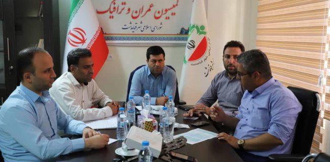 تشکیل جلسه هم اندیشی کمیسیون عمران و ترافیک شورای اسلامی شهر قیامدشت