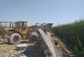 آزاد سازی اراضی کشاورزی بخش خاوران