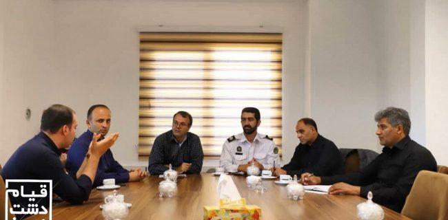 تشکیل کارگروه سامانه حمل و نقل دانش آموزی سپند در شهرداری قیامدشت