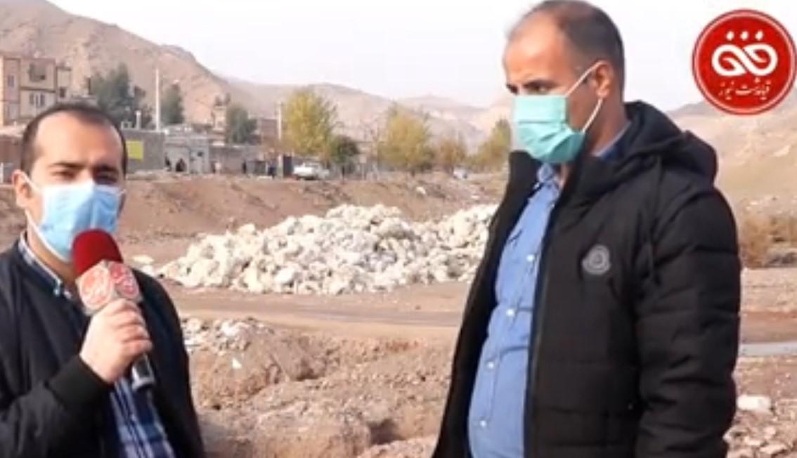 گزارش روز | وضعیت نامطلوب مسیر ارتباطی روستای سنگتراشان و چهلقز بخش خاوران
