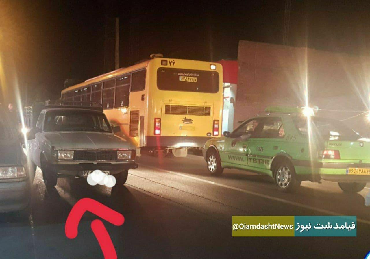 پارك دوبل در خیابان های قیامدشت، معضلی كه سوهان روح شده است
