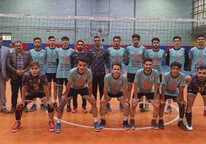دومین پیروزی تیم هیات والیبال بخش خاوران در لیگ والیبال استان تهران