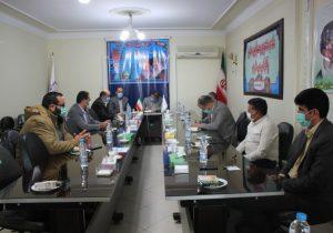 تشکیل جلسه هماهنگی برگزاری انتخابات ۱۴۰۰ در بخش خاوران با حضور دهیاران این بخش