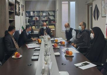برگزاری چهارمین جلسه هماهنگی انتخابات ۱۴۰۰ در بخش خاوران