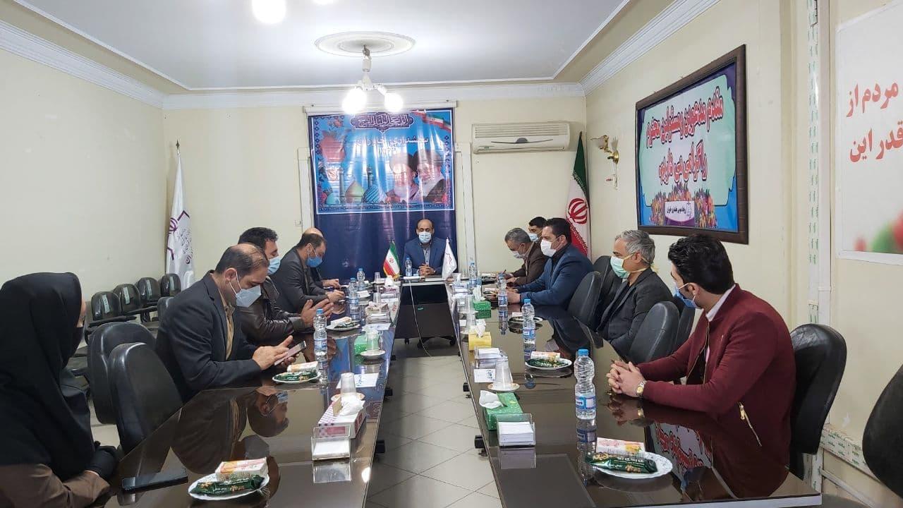 تشکیل جلسه بررسی مشکلات هیئت های ورزشی بخش خاوران با چاشنی انتخابات ۱۴۰۰